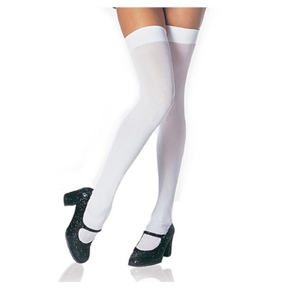 b353a7663f7 Opaque Thigh High Stockings - pack of 4